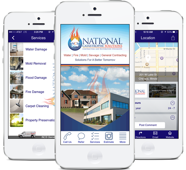 Download our National Catastrophe Solutions Smartphone App